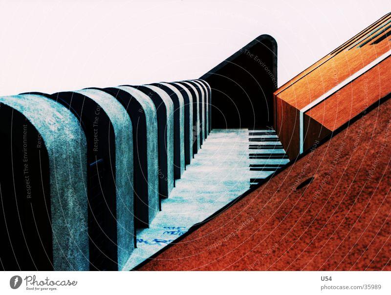 sozialer Wohnungsbau #4 Haus Kreuzberg Schönes Wetter Balkon Architektur Himmel Häusliches Leben
