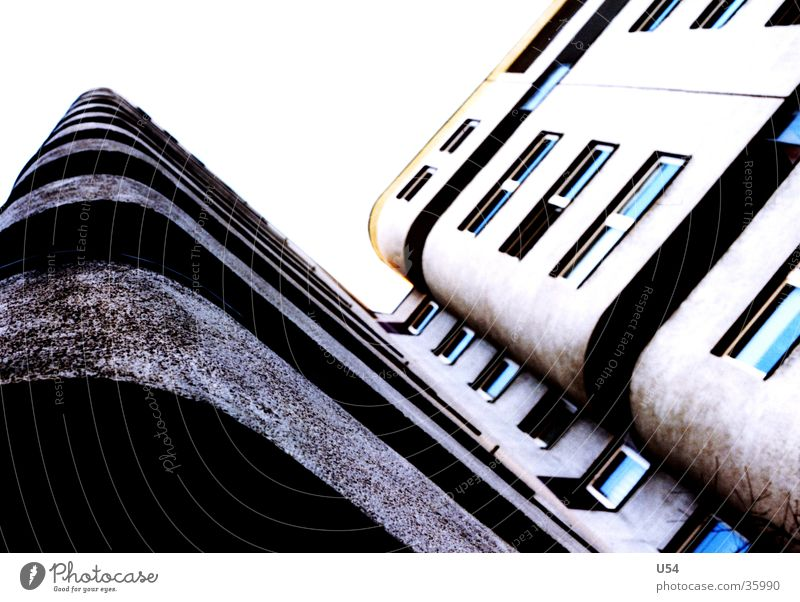 sozialer Wohnungsbau #3 Himmel Haus Fenster Architektur Häusliches Leben Balkon Berlin Kreuzberg