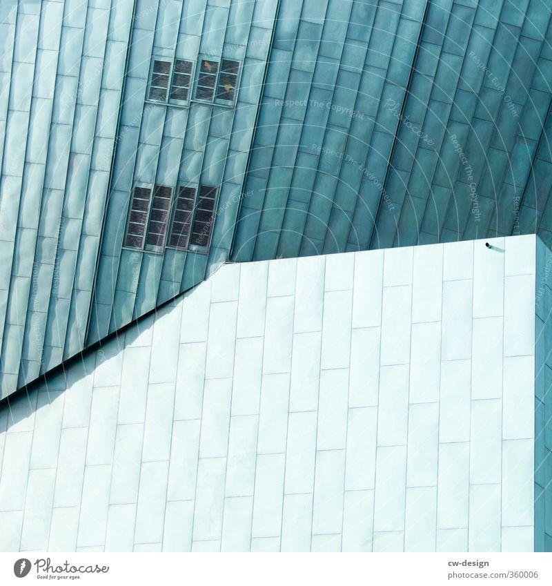 Amsterdamer Architektur Fenster Wand Mauer Gebäude grau Fassade Bauwerk trendy Wahrzeichen Stadtzentrum Sehenswürdigkeit Hauptstadt Altstadt Hafenstadt