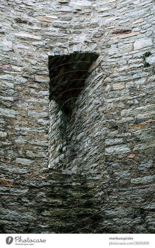Alte Burgruine Nordeck Steinachtal Oberfranken Bayern Franken Frankenwald Ruine Steine