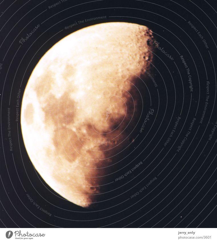 Mond Natur Weltall Moon Stern