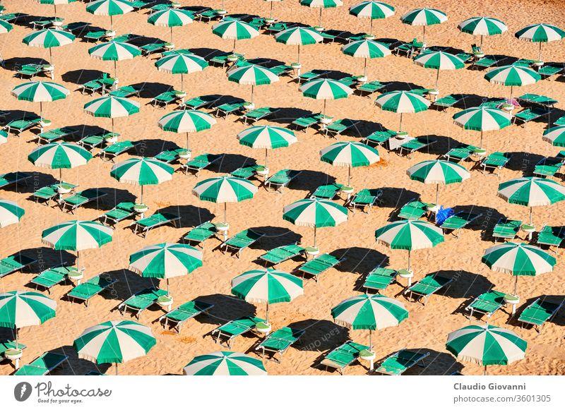 Termoli, der Strand Adriatico Campobasso Europa Italien Molise Küste Farbe Krise Tag grün horizontal Italienisch Morgen niemand im Freien Fotografie