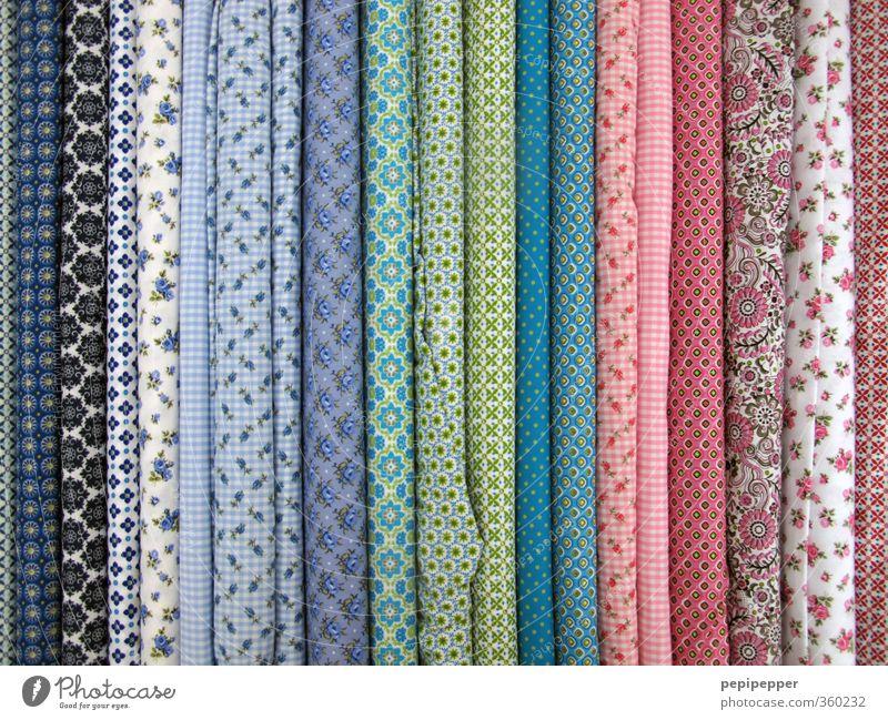 echt guter stoff kaufen Stil Schneider Handel Mode Bekleidung Stoff Zeichen Ornament verkaufen elegant trendy Kitsch weich mehrfarbig Textilien Menschenleer