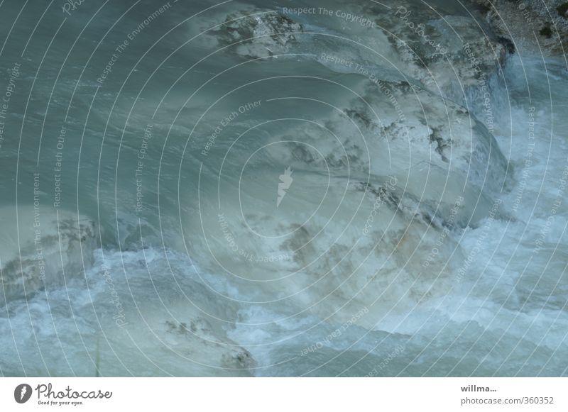 lebendigkeit | AST6 Wasser kalt Stein Fluss türkis Bach Strömung