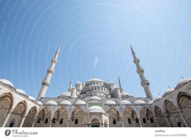 1002 Nächte Istanbul Türkei Hauptstadt Altstadt Kirche Sehenswürdigkeit Wahrzeichen ästhetisch außergewöhnlich Blaue Moschee Islam Schönes Wetter