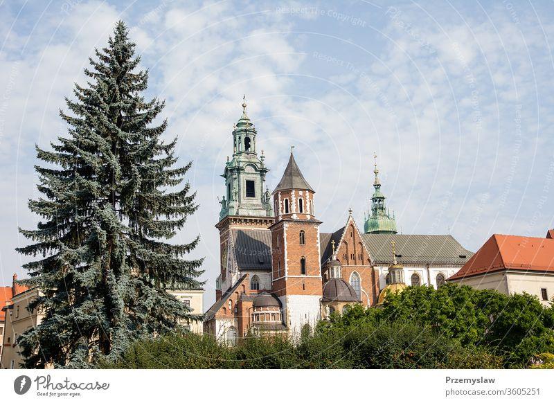 Sigismundkapelle auf Schloss Wawel in Krakau (Polen) Krakow reisen Tourismus malopolska Architektur Gebäude wawel Kapelle Kirche Wahrzeichen alt