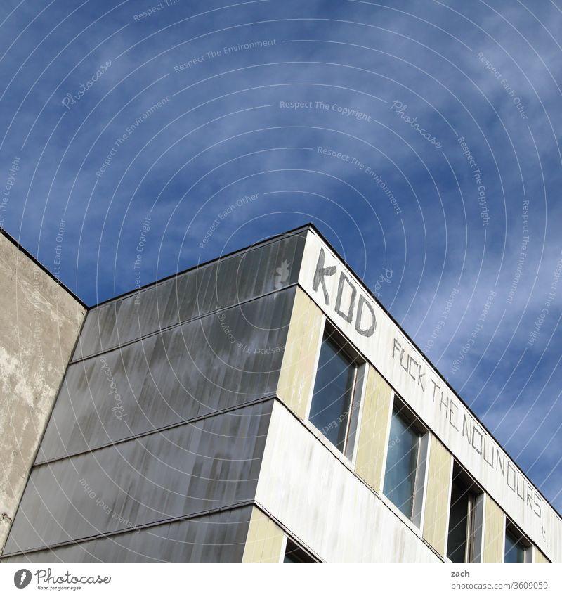 Ecken und Kanten Bürogebäude Einsamkeit Beton DDR Neubau Häusliches Leben Marzahn Marzahn-Hellersdorf gleichschaltung gleichförmig Eintönig Vielfalt individuell