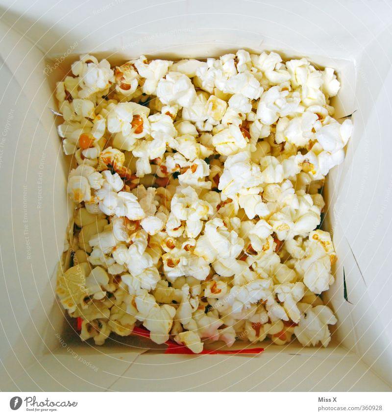 Popcorn Feste & Feiern Lebensmittel Foodfotografie Ernährung süß Süßwaren lecker Korn Kino Schalen & Schüsseln ungesund Fastfood Mais Popkorn