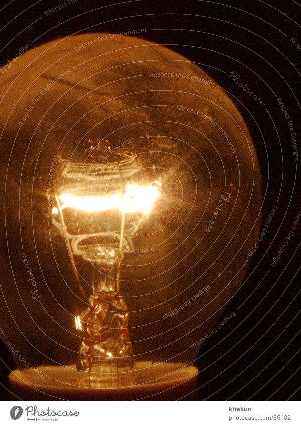 mir geht (k)ein licht auf gelb Lampe orange obskur