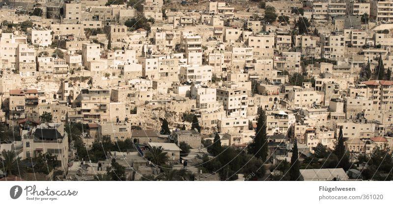 Oh Jerusalem Ferien & Urlaub & Reisen Tourismus Ausflug Ferne Freiheit Städtereise Hauptstadt Stadtzentrum Stadtrand Altstadt Haus Israel Judentum Israelis