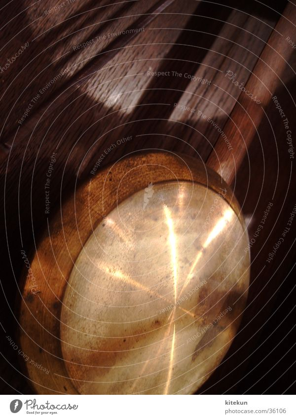Das goldene Pendel Holz Metall gold Uhr Häusliches Leben mystisch interessant Pendel