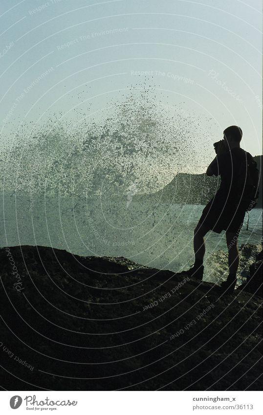 wet shower Meer Wellen München Überraschung Brandung Video Südafrika Bayern