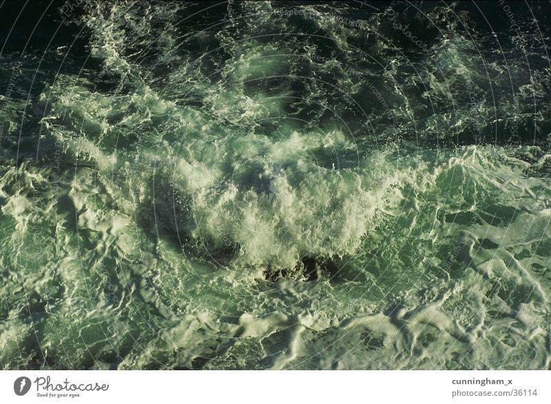 downview Südafrika Indischer Ozean Brandung Gischt Wellen Küste Klippe Am Rand München Wild Coast
