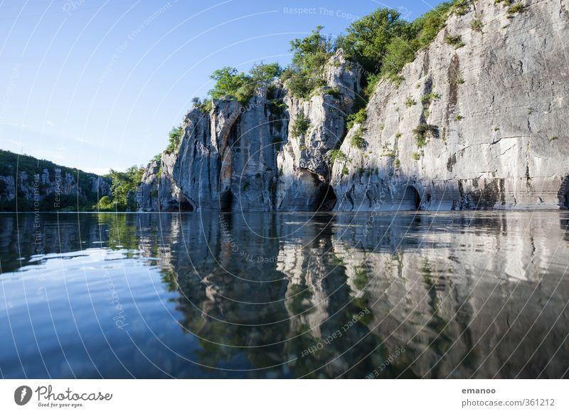 Canyon Ferien & Urlaub & Reisen Tourismus Ausflug Freiheit Sommer Sommerurlaub Wellen Umwelt Natur Landschaft Wasser Himmel Klima Wetter Sträucher Hügel Felsen