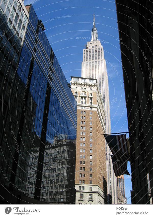 New Yorker Straßen 2 New York City Stadt Architektur Großstadt Empirestate Building