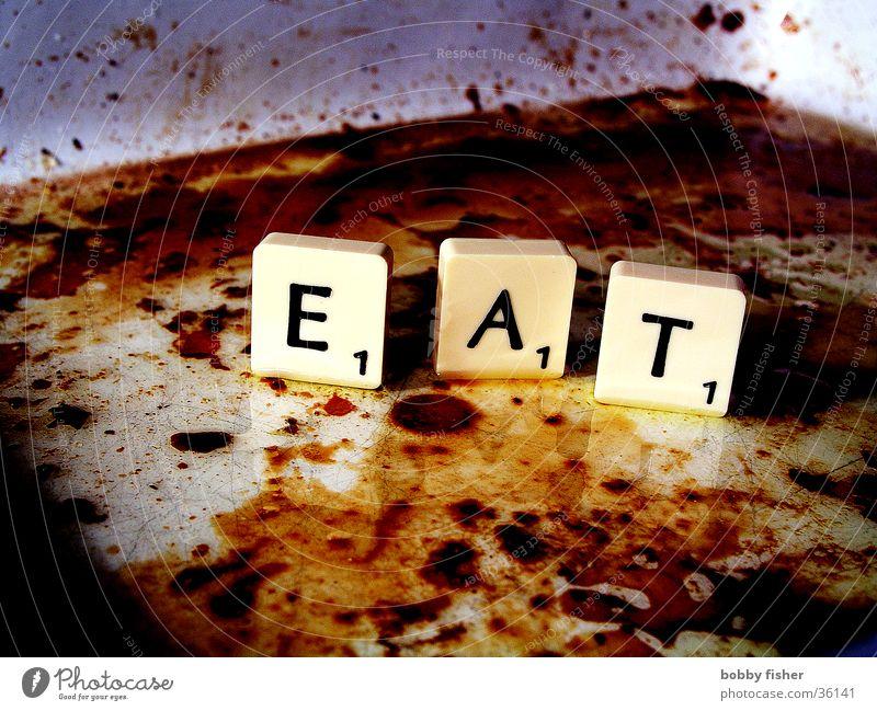 scrabble Ernährung dreckig Küche Sauberkeit obskur Fett Erdöl