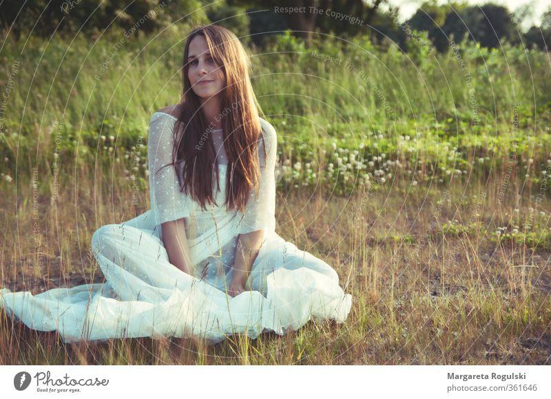 Bohemian Lifestyle Stil schön Haare & Frisuren Ferien & Urlaub & Reisen Abenteuer Ferne Freiheit Sommer Sonne Sonnenbad Hochzeit feminin 1 Mensch 18-30 Jahre