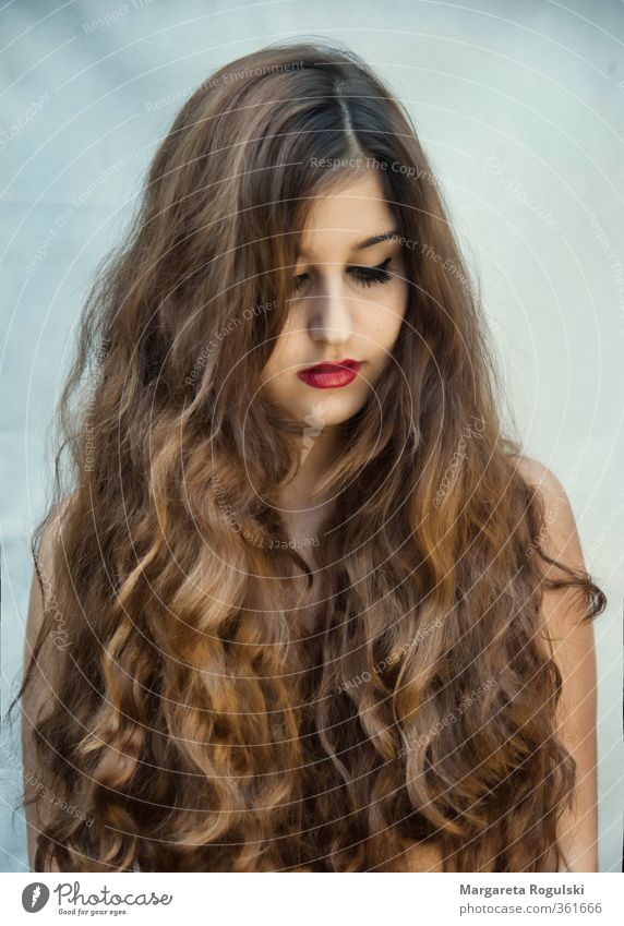 Frisuren locken braun
