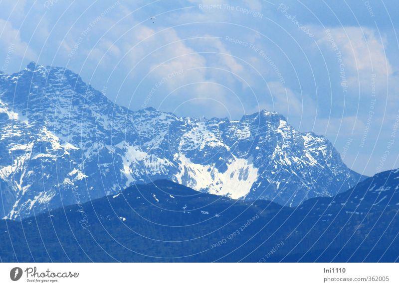AST6 Inntal | Berge... Himmel Natur Ferien & Urlaub & Reisen blau weiß Erholung Einsamkeit Landschaft ruhig Wolken Berge u. Gebirge Umwelt Frühling natürlich
