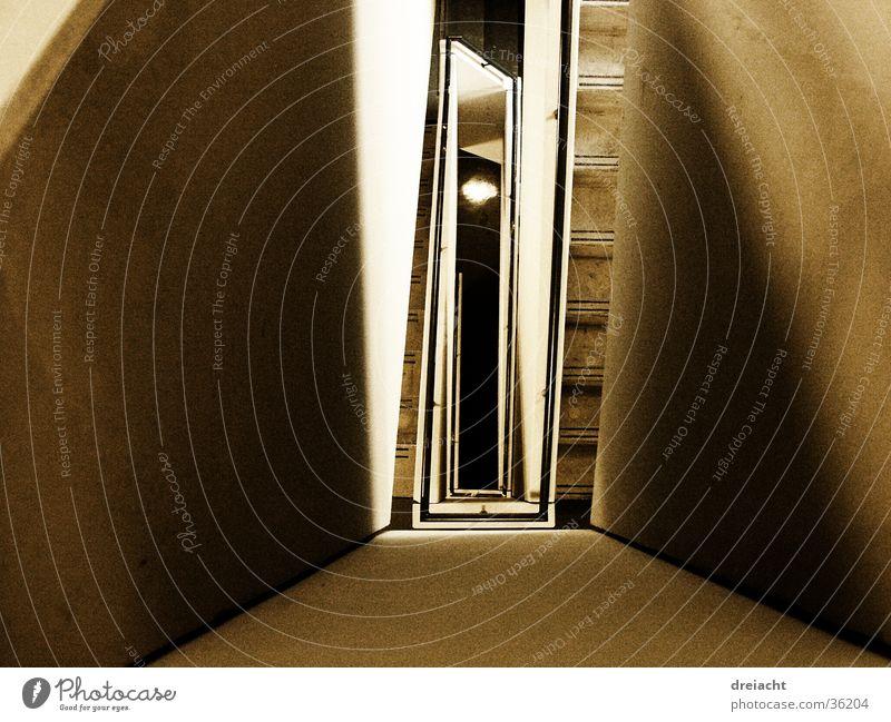 Tunnel Architektur Treppe Treppenhaus Dessau