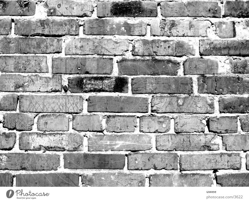 brick wall Backstein Wand Hintergrundbild Muster Dinge