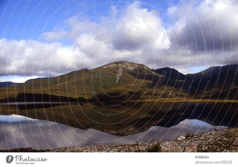 Tasmanien Natur Wasser Wolken Berge u. Gebirge Australien