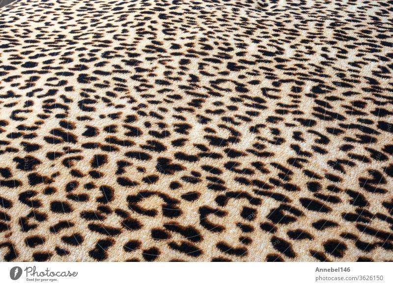 Hintergrund oder Textur mit Wildtiermuster, Leoparden-Dschungel-Motivdruck modern Tattoo Mode Grunge Design abstrakt geblümt Tribal retro Muster altehrwürdig
