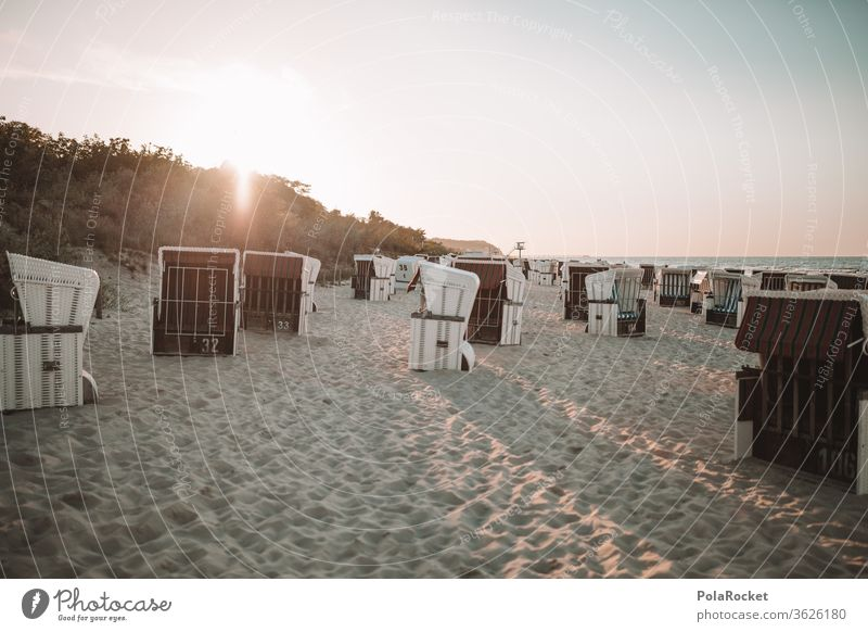 #A# Ostsee-Sonne Landschaft Wasser Farbfoto Mecklenburg-Vorpommern Himmel Sand Tourismus Natur Außenaufnahme Ferien & Urlaub & Reisen Meer Idylle