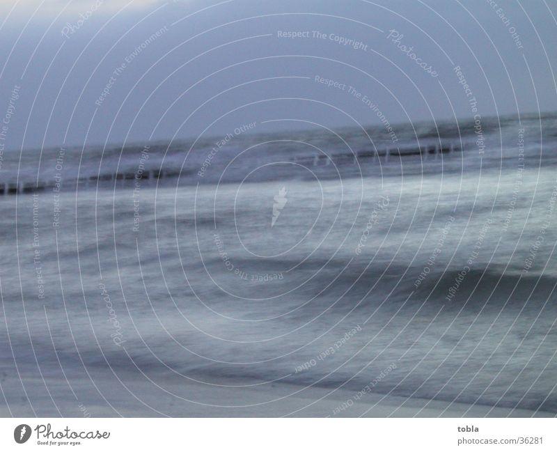 Die Ostsee auf Hidensee Meer Strand Brandung