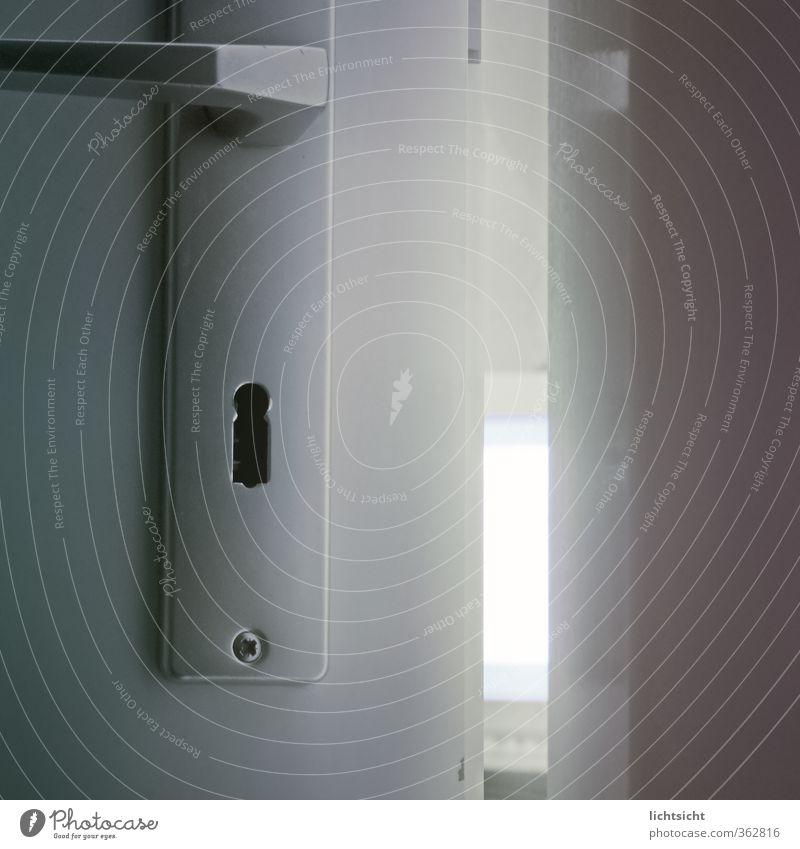 Türspion Raum Computer beobachten Sicherheit geheimnisvoll Bildschirm Verbote Griff schließen Kriminalität aufmachen Überwachung spionieren Spitzel