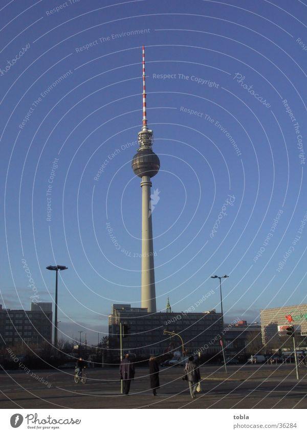 Fernsehturm Berlin Architektur Alexanderplatz