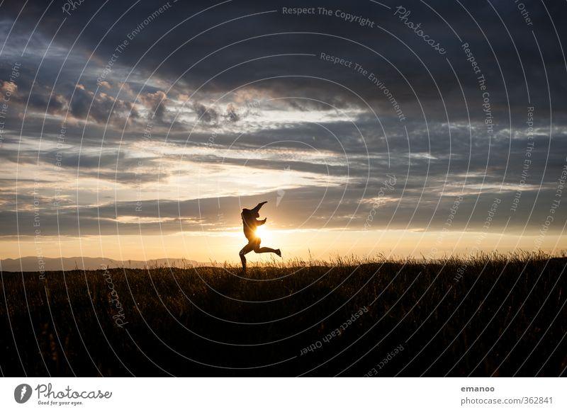 horizon dance Lifestyle Stil Freude Freizeit & Hobby Ferien & Urlaub & Reisen Tourismus Ausflug Freiheit Sommer Berge u. Gebirge wandern Tanzen Mensch Frau