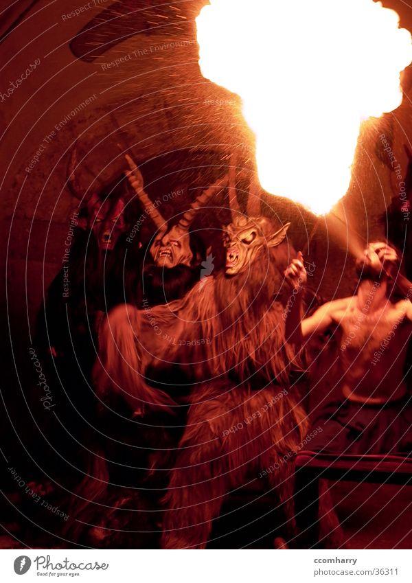 Höllennacht Aktion Freizeit & Hobby Tradition Teufel Feuerschlucker
