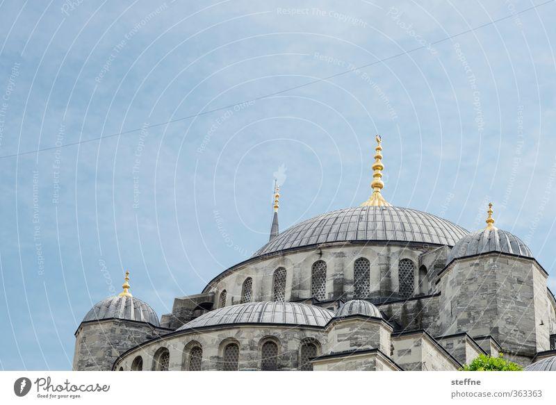 1011 Nächte | verkuppelt Istanbul ästhetisch Blaue Moschee Islam Naher und Mittlerer Osten prächtig Kuppeldach elegant Würde Türkei Wahrzeichen