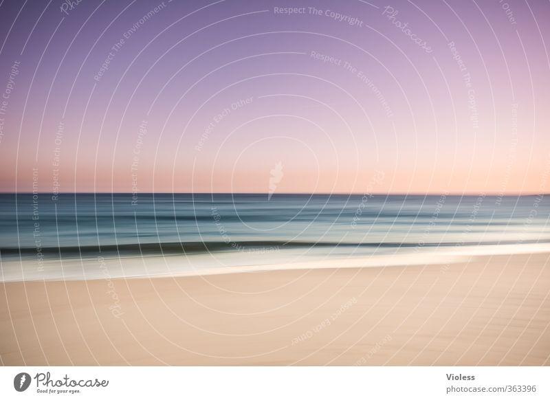 ... peace of mind Ferien & Urlaub & Reisen Sommer Sommerurlaub Strand Meer Wellen Küste Erholung genießen träumen außergewöhnlich fantastisch Kitsch Freude
