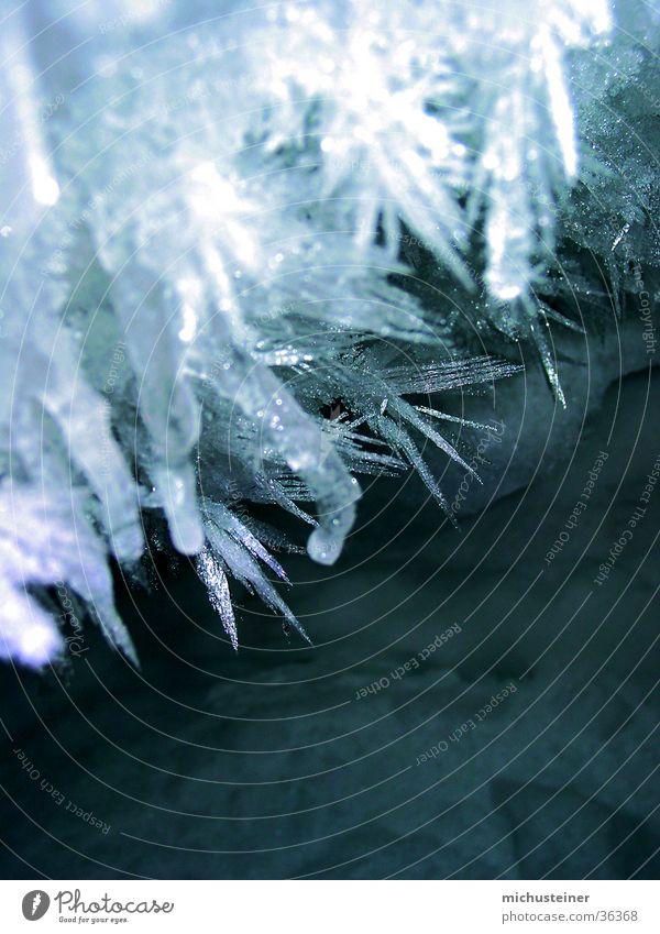 Eiskristalle_3 Wasser kalt Schnee Stern (Symbol) faszinierend