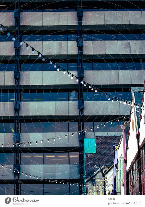 Stadt Wand Architektur Mauer Beleuchtung Business Arbeit & Erwerbstätigkeit Büro Tourismus Hochhaus hoch Dekoration & Verzierung Dach Kultur Geldinstitut