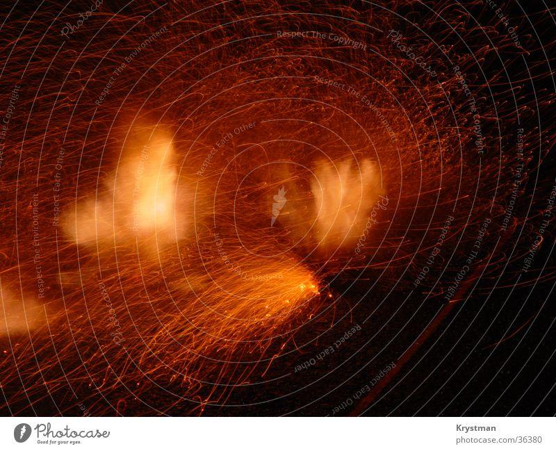 D-Böller Explosion Feuerwerk Silvester u. Neujahr Langzeitbelichtung Brand Funken