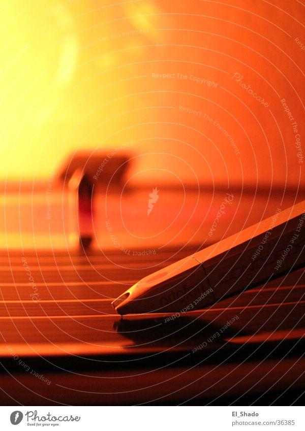 Ruhige Rille Plattenspieler Schallplatte Furche Freizeit & Hobby orange Bewegung Tonabnehmer Plattenteller