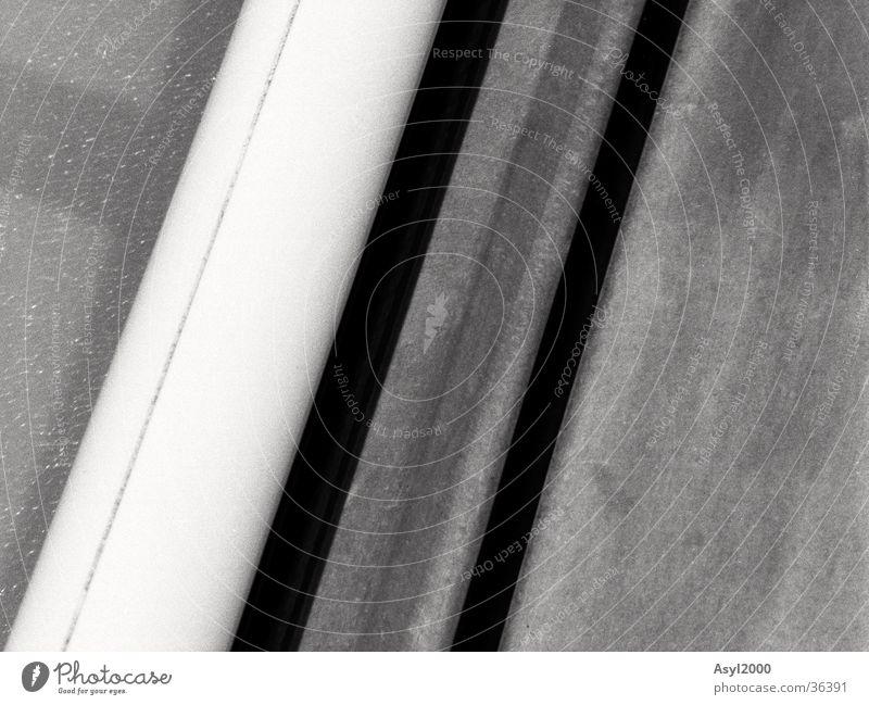 b/w voll nah dran schwarz weiß abstrakt Zoomeffekt Architektur Linie Strukturen & Formen