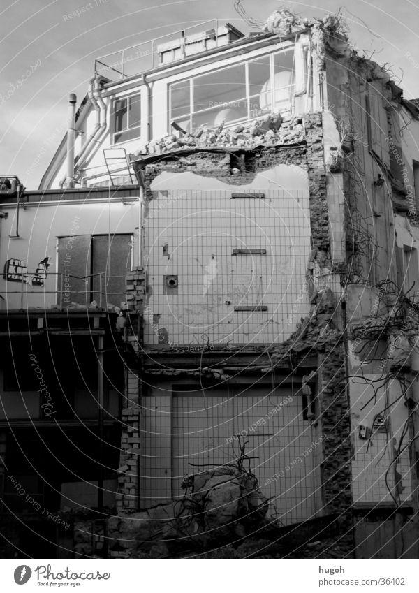 urban_chaos Stadt Haus Architektur Baustelle Zerstörung Demontage