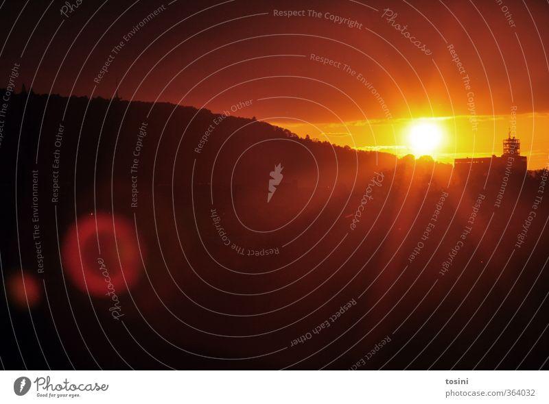 bye bye, summer Natur Sonne Sonnenaufgang Sonnenuntergang Sonnenlicht gelb orange Abenddämmerung schön fantastisch beeindruckend Farbfoto Außenaufnahme
