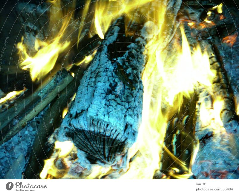 Feuer Holz Wärme Brand Flamme
