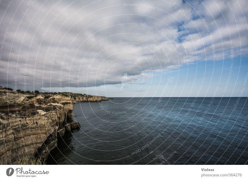 ...partly sunny Ferien & Urlaub & Reisen Ferne Sommerurlaub Meer Natur Urelemente Himmel Wolken Wetter Wellen Küste Bucht entdecken Wetterumschwung Algarve