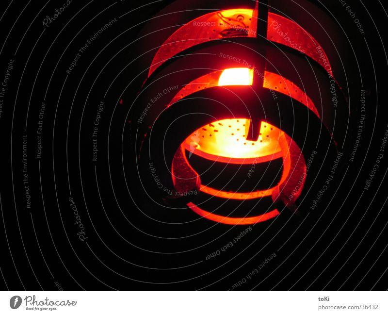 i believe rot schwarz gelb Lampe Dekoration & Verzierung Club obskur UFO Mineralwasser Wassersieb