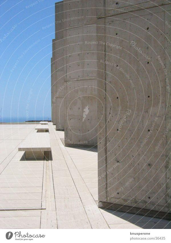 Salk_1 Beton Architektur International Style USA Kalifonien Salk Institute Louis Kahn