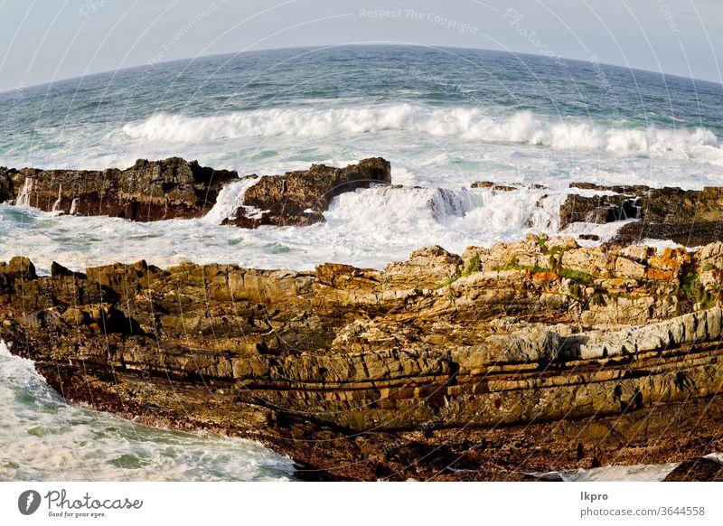 in südafrika sky ozean reserve Afrika Süden tsitsikamma Park national MEER Natur Meer Bierschaum Route Kap Wasser Landschaft Knysna Strand Fluss Unschärfe Küste