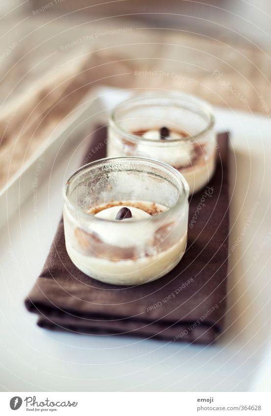 Eiskaffée Milcherzeugnisse Dessert Speiseeis Süßwaren Ernährung Schalen & Schüsseln lecker süß Eiskaffee Farbfoto Innenaufnahme Nahaufnahme Menschenleer Tag