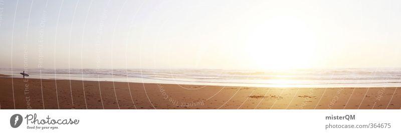 Pure Light. Ferien & Urlaub & Reisen Meer Freude Ferne Freiheit Stil Horizont Kunst Freizeit & Hobby Zufriedenheit elegant Lifestyle Design ästhetisch Zukunft