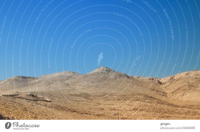 Otok Pag (Insel Pag) / Kroatien - Become yourself Wüste Sand Himmel Sonne Außenaufnahme Erde Umwelt Menschenleer Landschaft Tag Textfreiraum oben Schönes Wetter